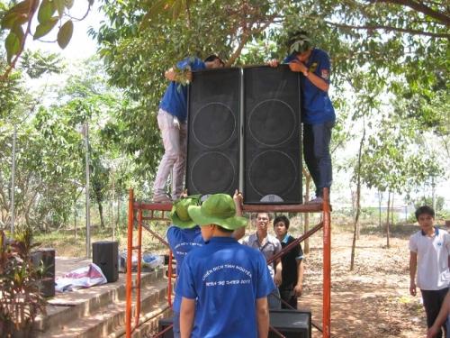 Cho thuê âm thanh giá rẻ sinh viên Cho thuê âm thanh ánh sáng tại TPHCM