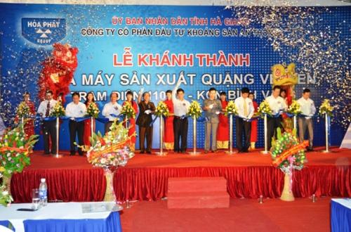Tổ chức sự kiện lễ khánh thành Cho thuê âm thanh ánh sáng tại TPHCM